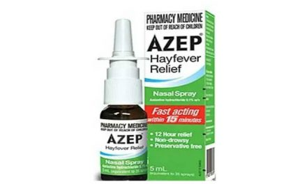 Have you experienced any side effects with Azep nasal spray?