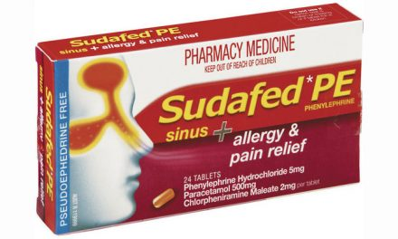 Have you experienced any side effects with Sudafed?