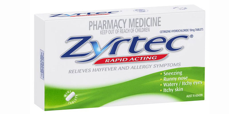 How does  Zyrtec rate for you?
