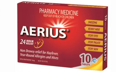 Have you experienced any side effects with Aerius?