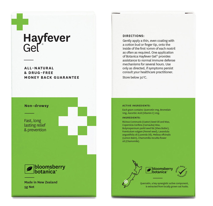 How Does Botanica Hay Fever Gel Rate For You Hay Fever